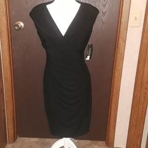 •NWT• Lauren by Ralph Lauren Black Dress